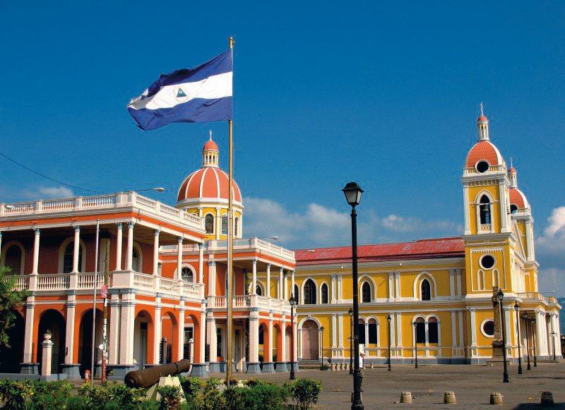 Granada, Unabhängigkeitsplatz, Nicaragua