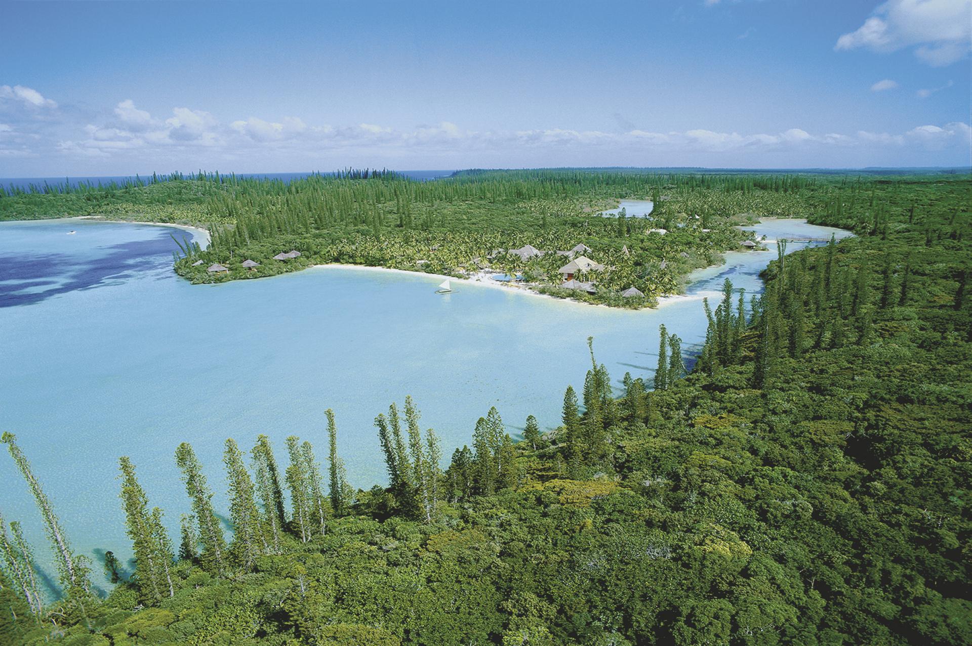 Blick auf die Oro Bucht