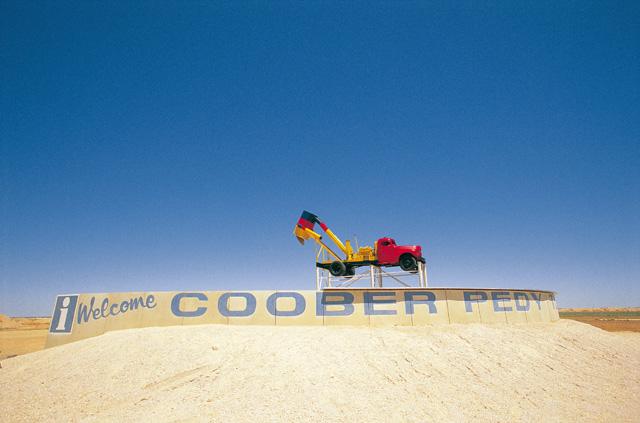 Willkommen in Coober Pedy