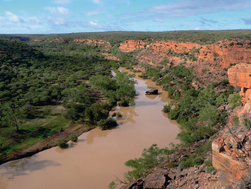 Kalbarri Nationalpark, Murchinson Gorge