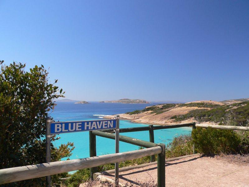 Blue Haven Bucht bei Esperance im Südwesten