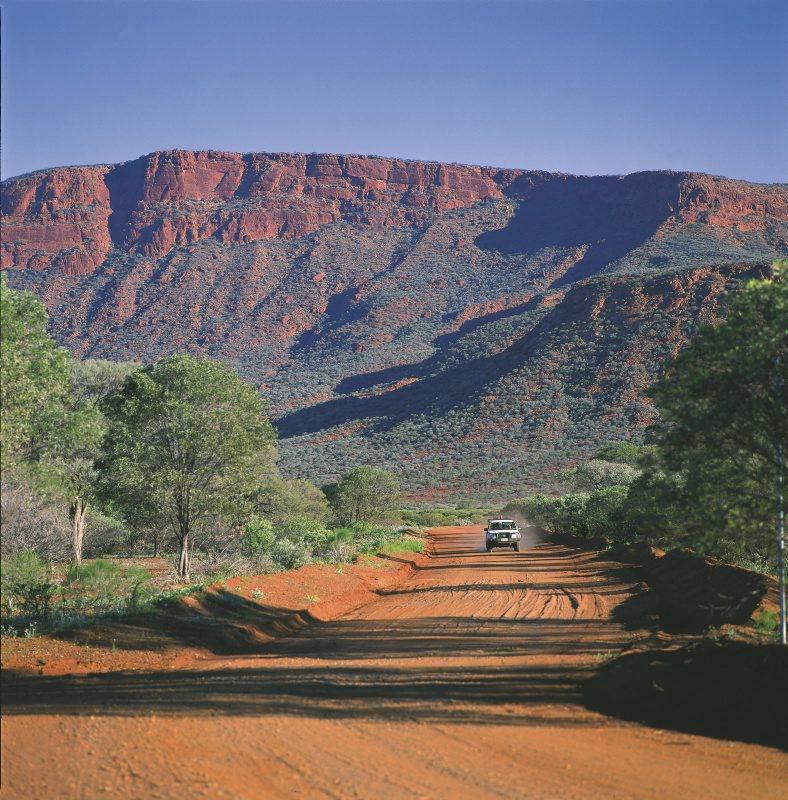 Unterwegs zum Mount Augustus in Westaustralien