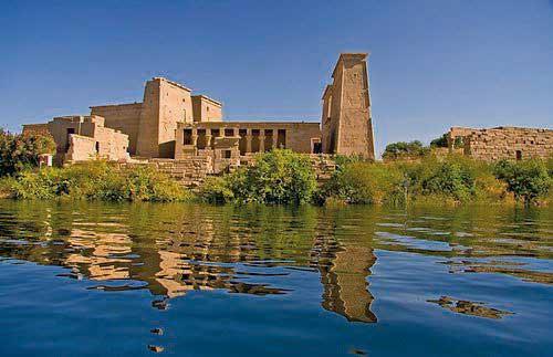 Der Philae-Tempel in Oberägypten