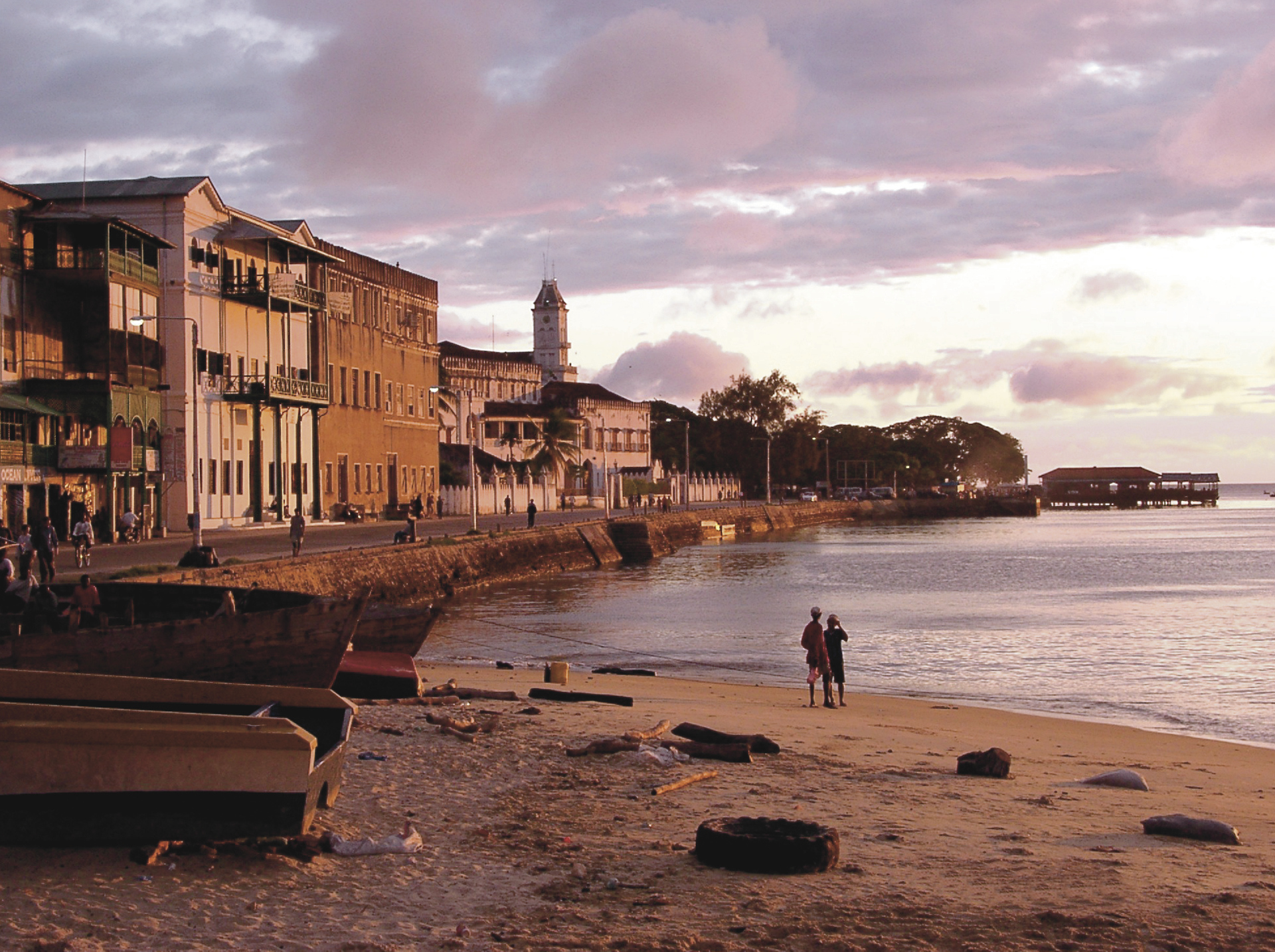 ©Shamiso; Abend in Stone Town