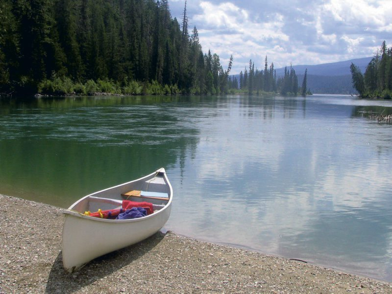 Clearwater Lake, Wells Gray Park, B.C.