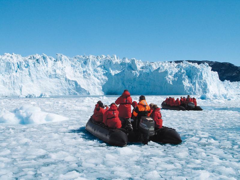 Ausflug in das Eis Grönlands - copyright Hapag-Lloyd Kreuzfahrten