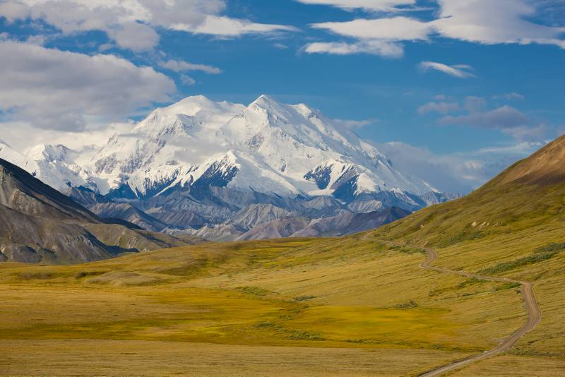 Mt. Denali, Denali Nationalpark - Foto: State of Alaska ©2010 Michael DeYoung