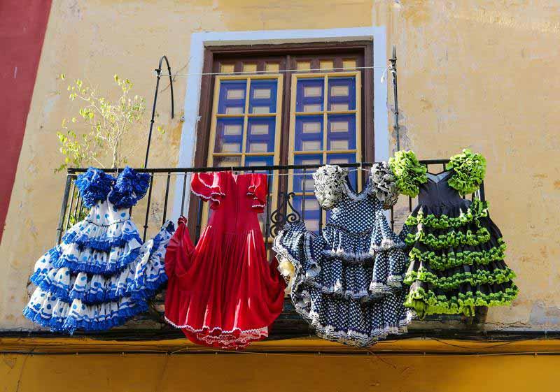 Flamenco Kleider