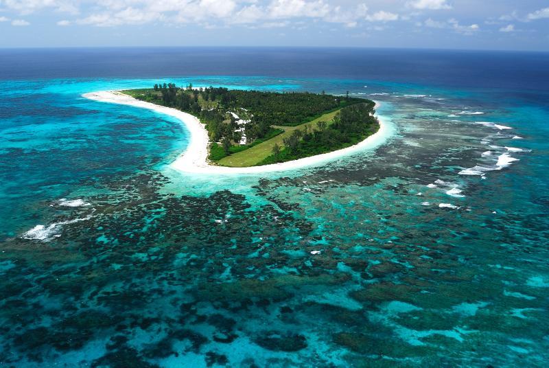 Bird Island von oben - copyright Variety Cruises