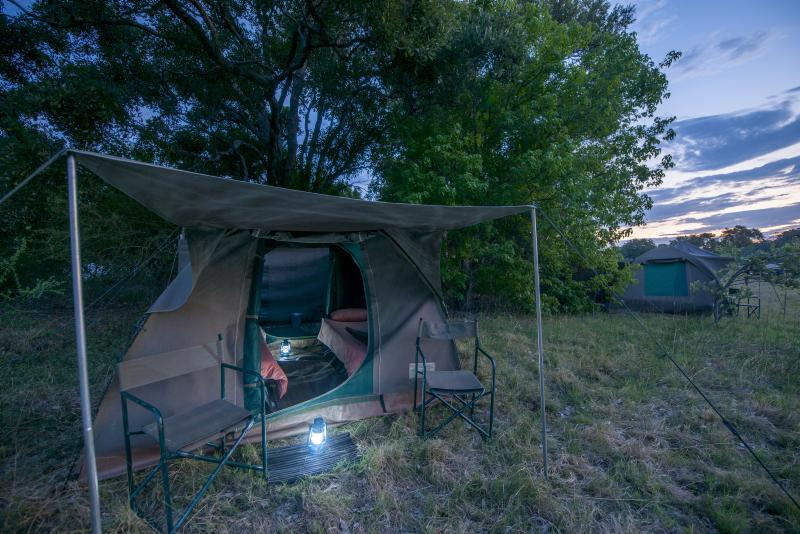 Botswana Komfort Camping, Bush Ways Safaris