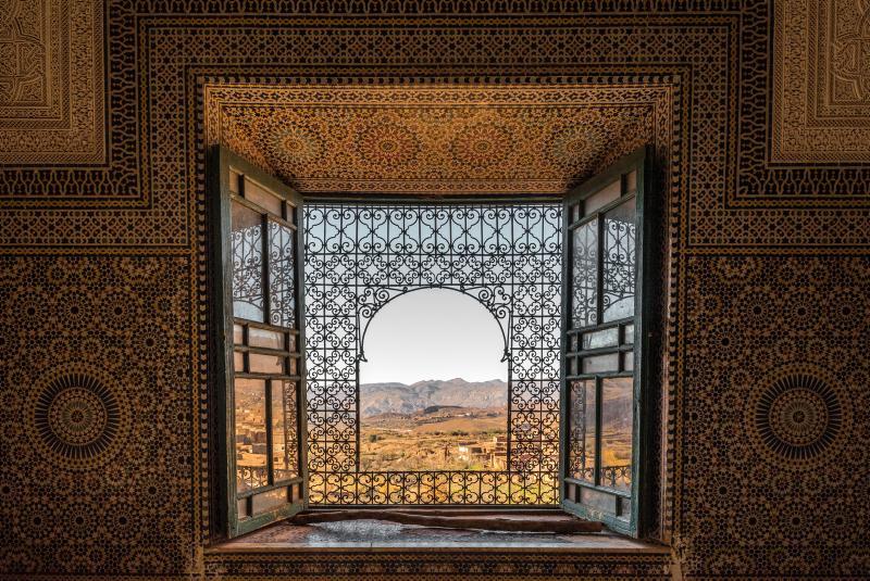 Ausblick aus einer Kasbah (©Dirk Vonten - stock.adobe.com)