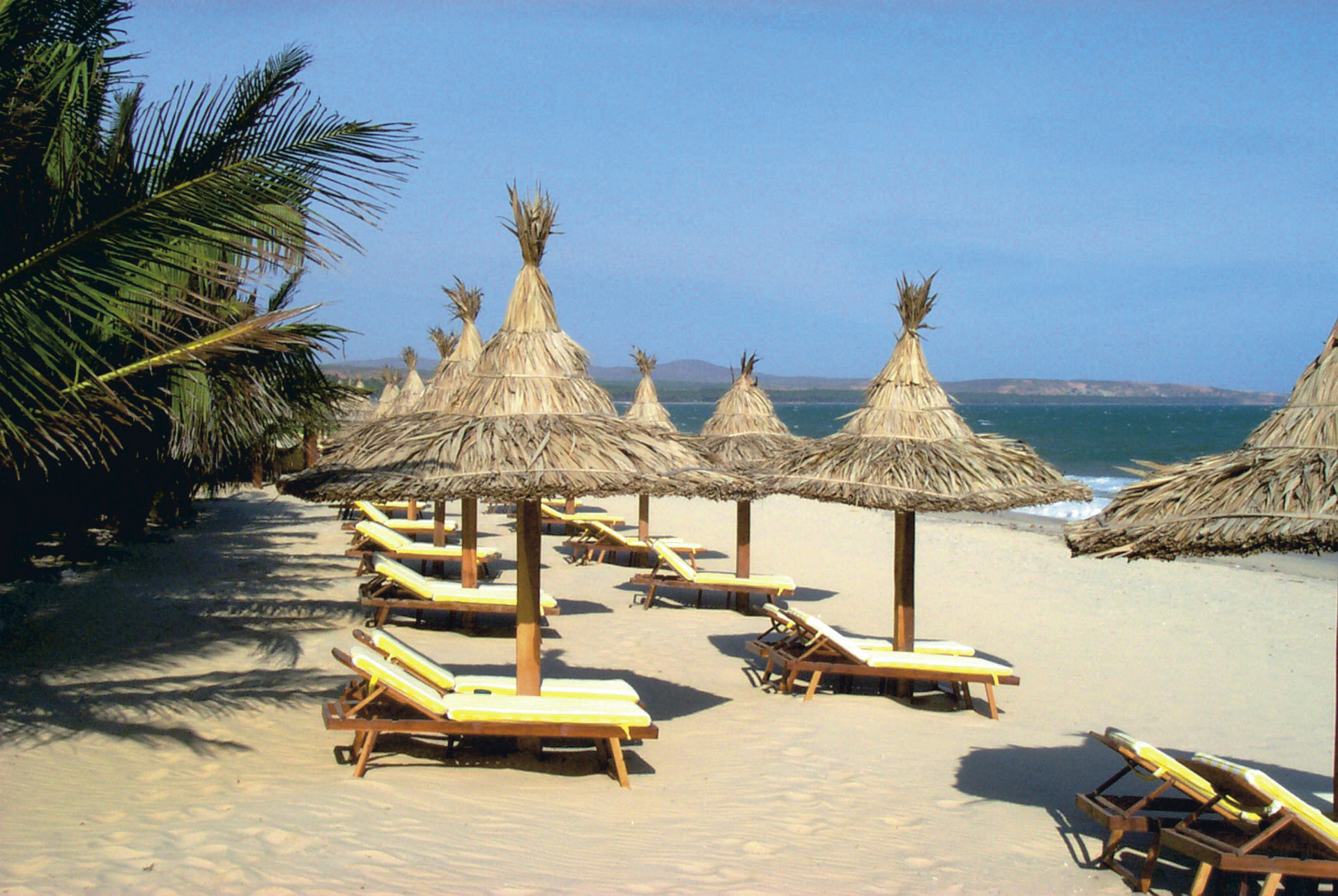 Coco Beach Resort, Strand
