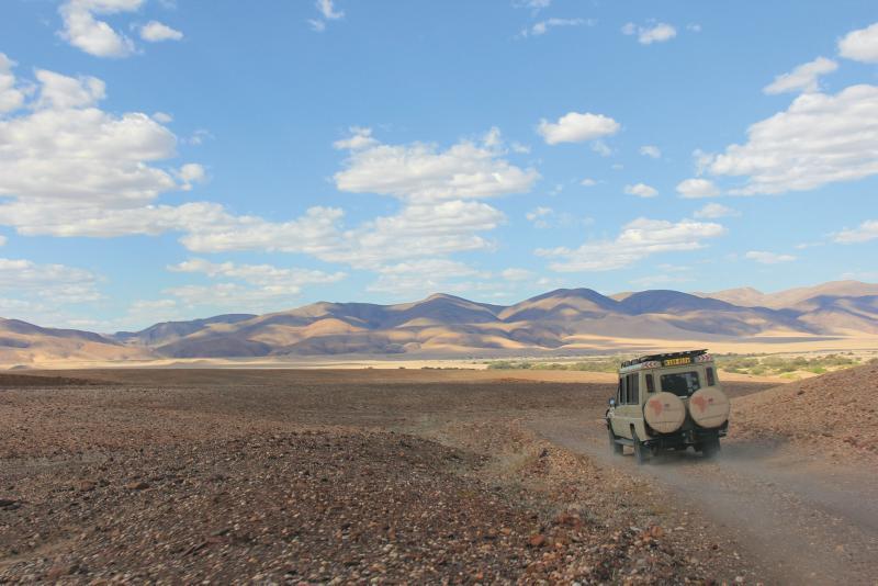 Namibia Experience Safari-Fahrzeug