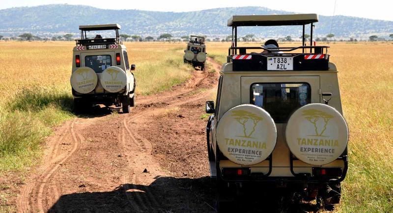 Tansania, Serengeti, Fahrzeuge ©Tanzania Experience