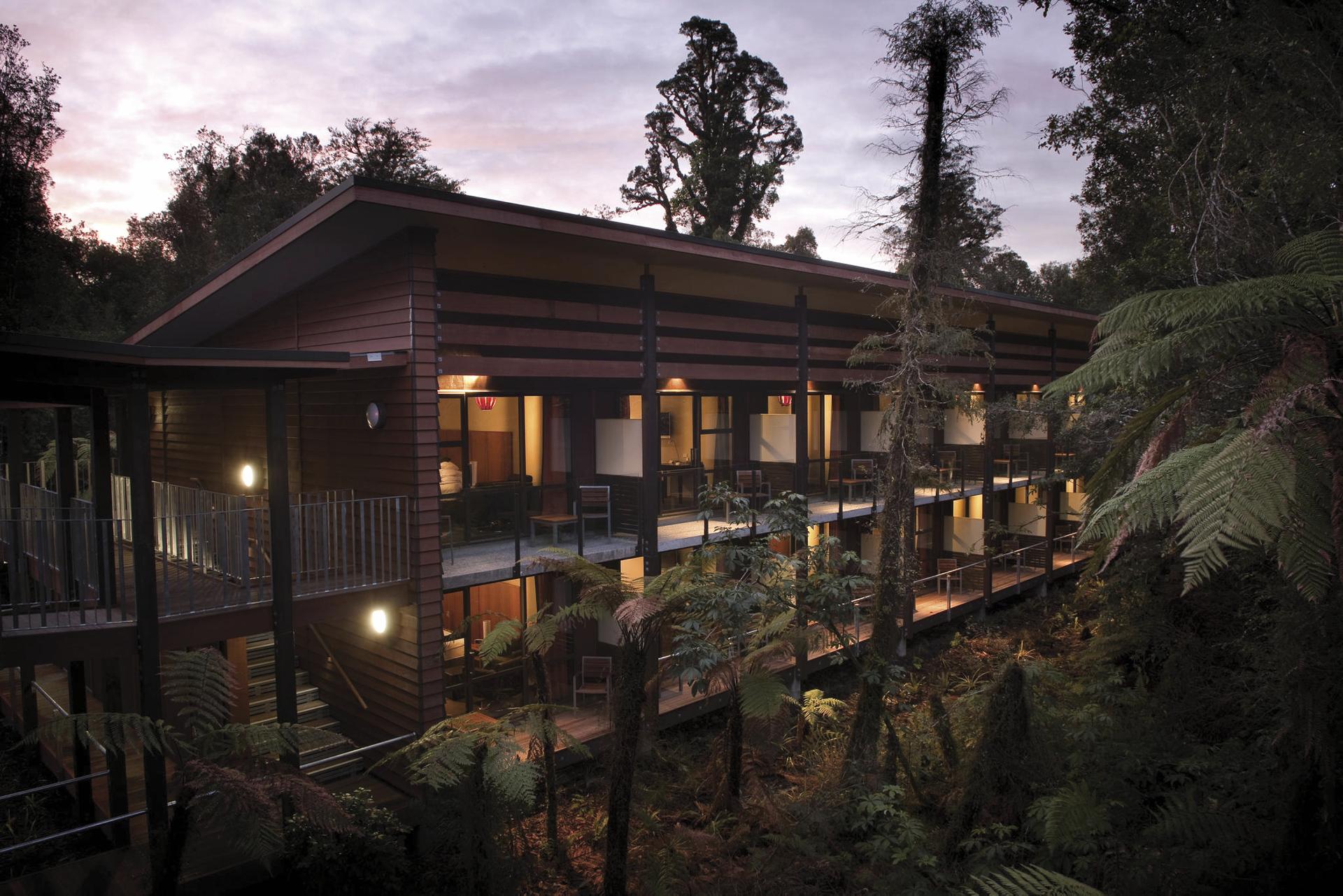 Luxus im Regenwald