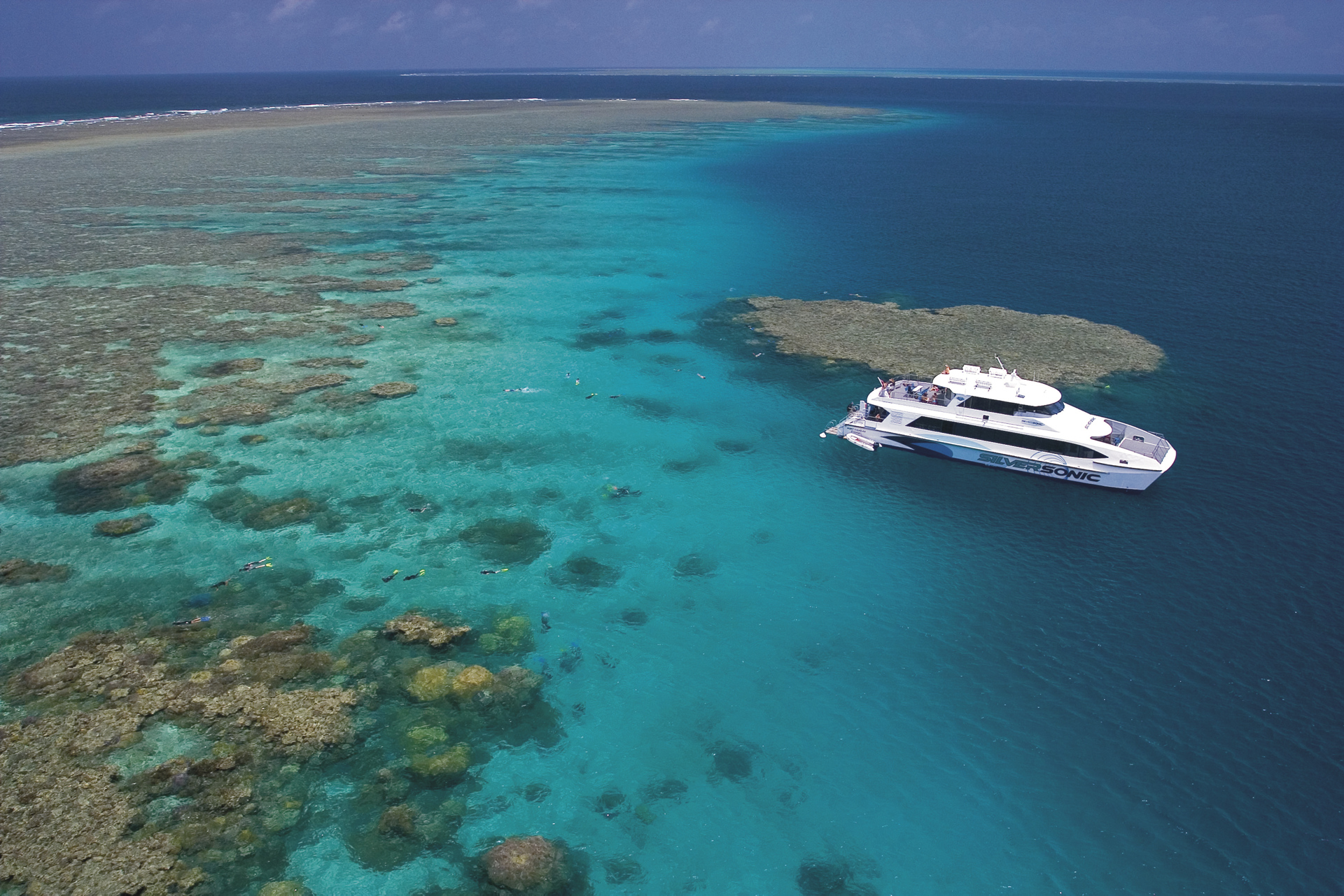 Silversonic am Great Barrier Reef ©Gavin Hardy