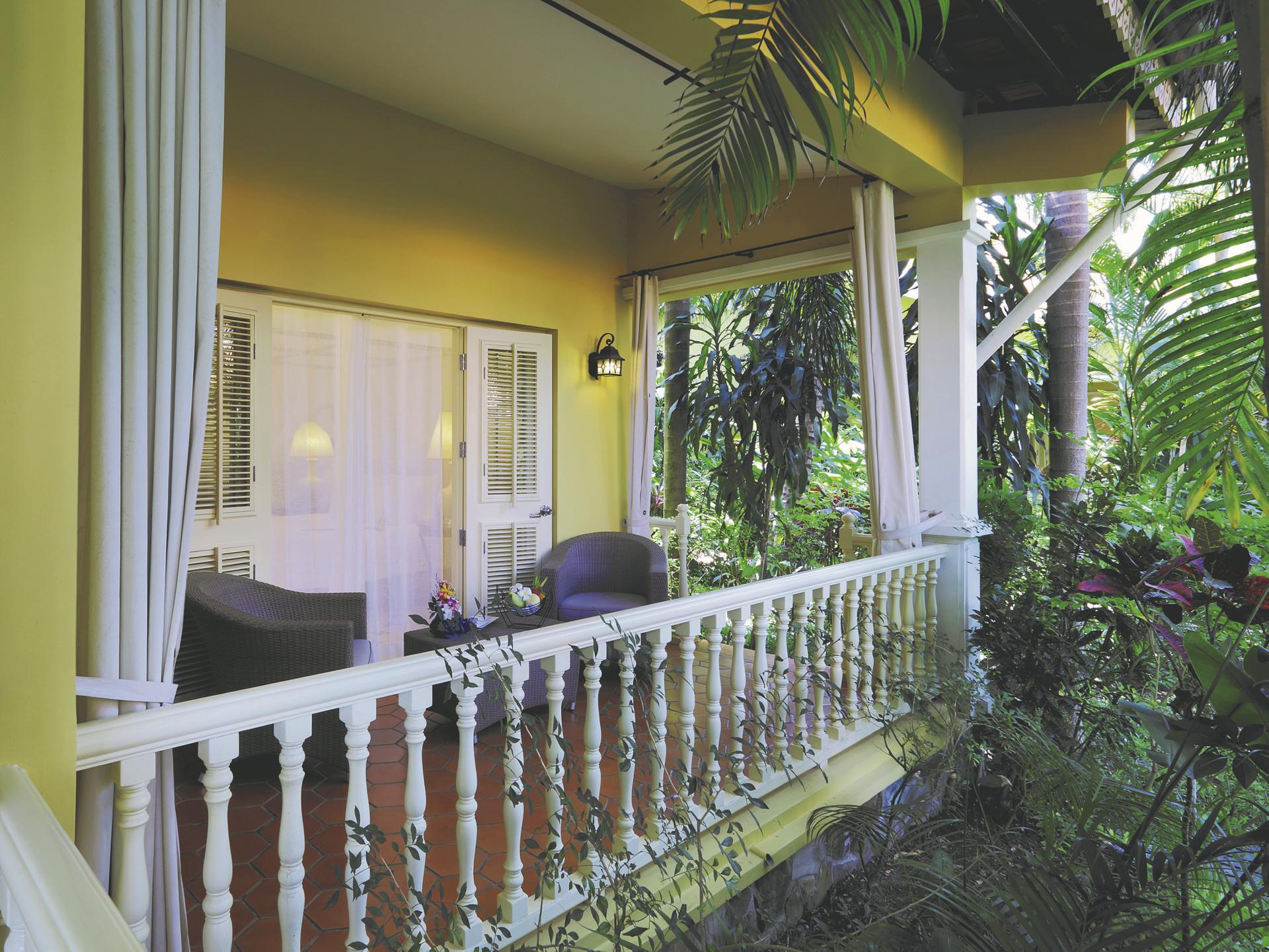 Veranda, Deluxe Zimmer mit Gartenblick