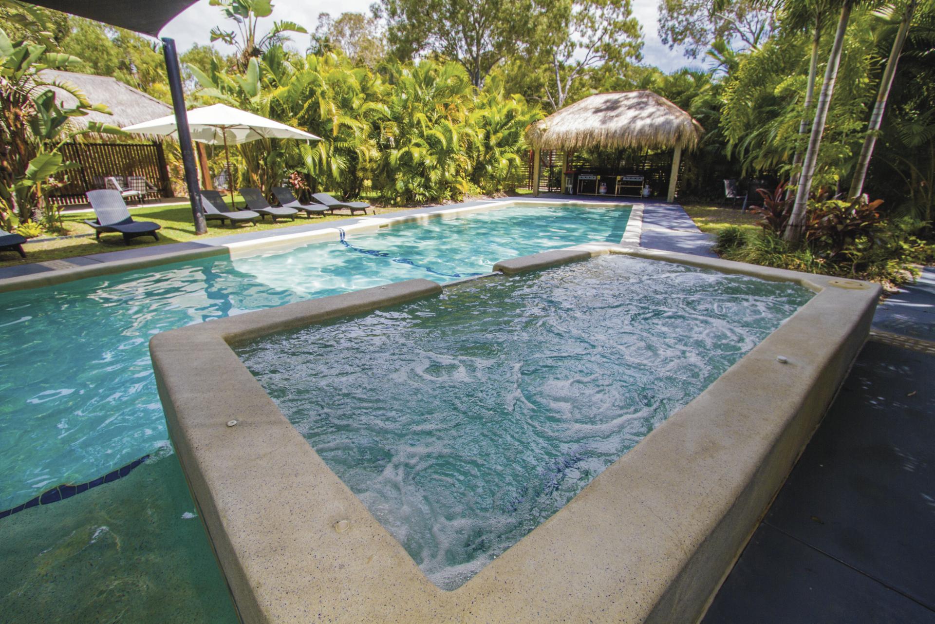 Pool im Sandcastles 1770