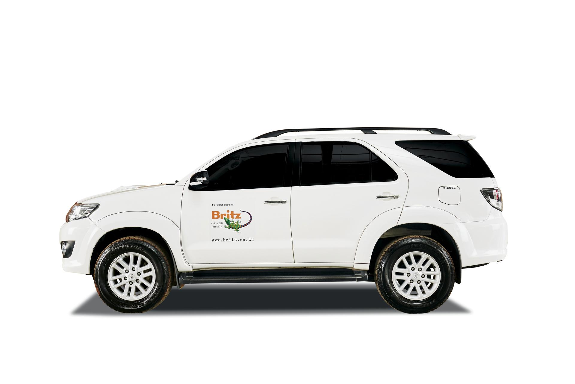 Gruppe BFTA: Toyota Fortuner 4x4