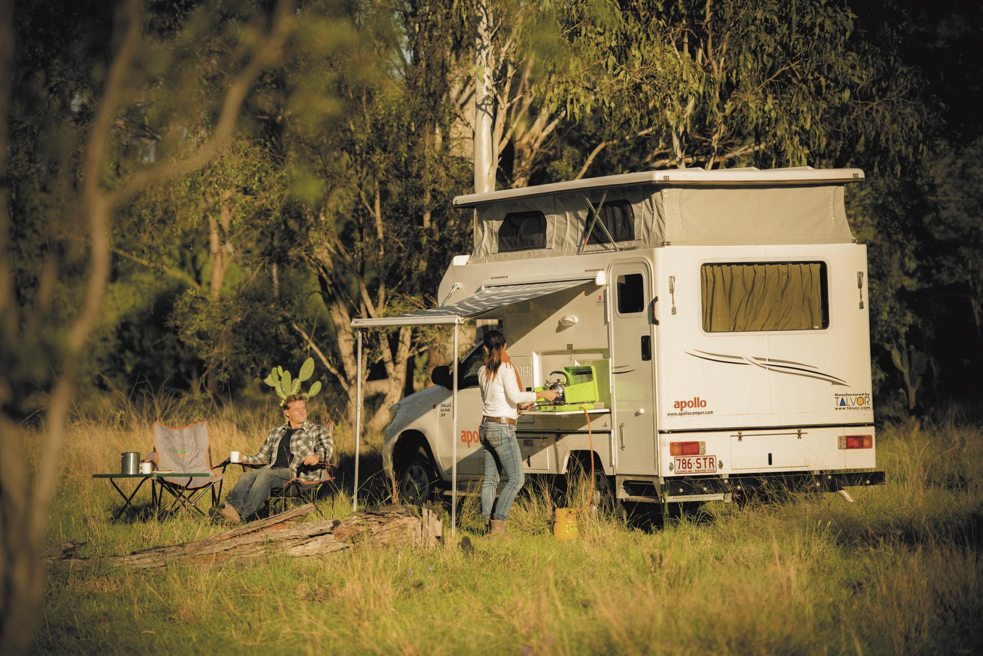 Apollo 4WD Adventure Camper