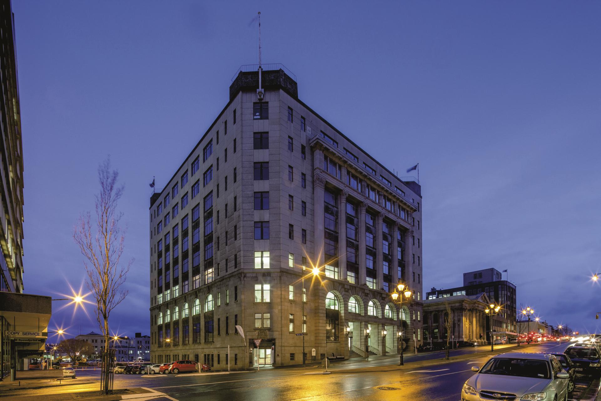 Hotel im alten Postgebäude
