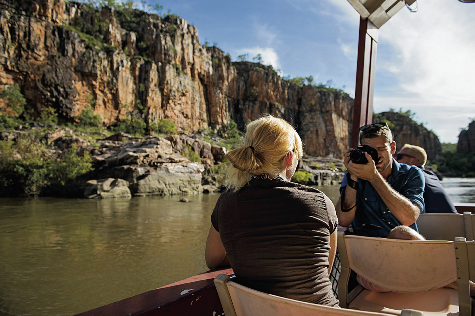 In der Katherine Gorge ©Shaana McNaught