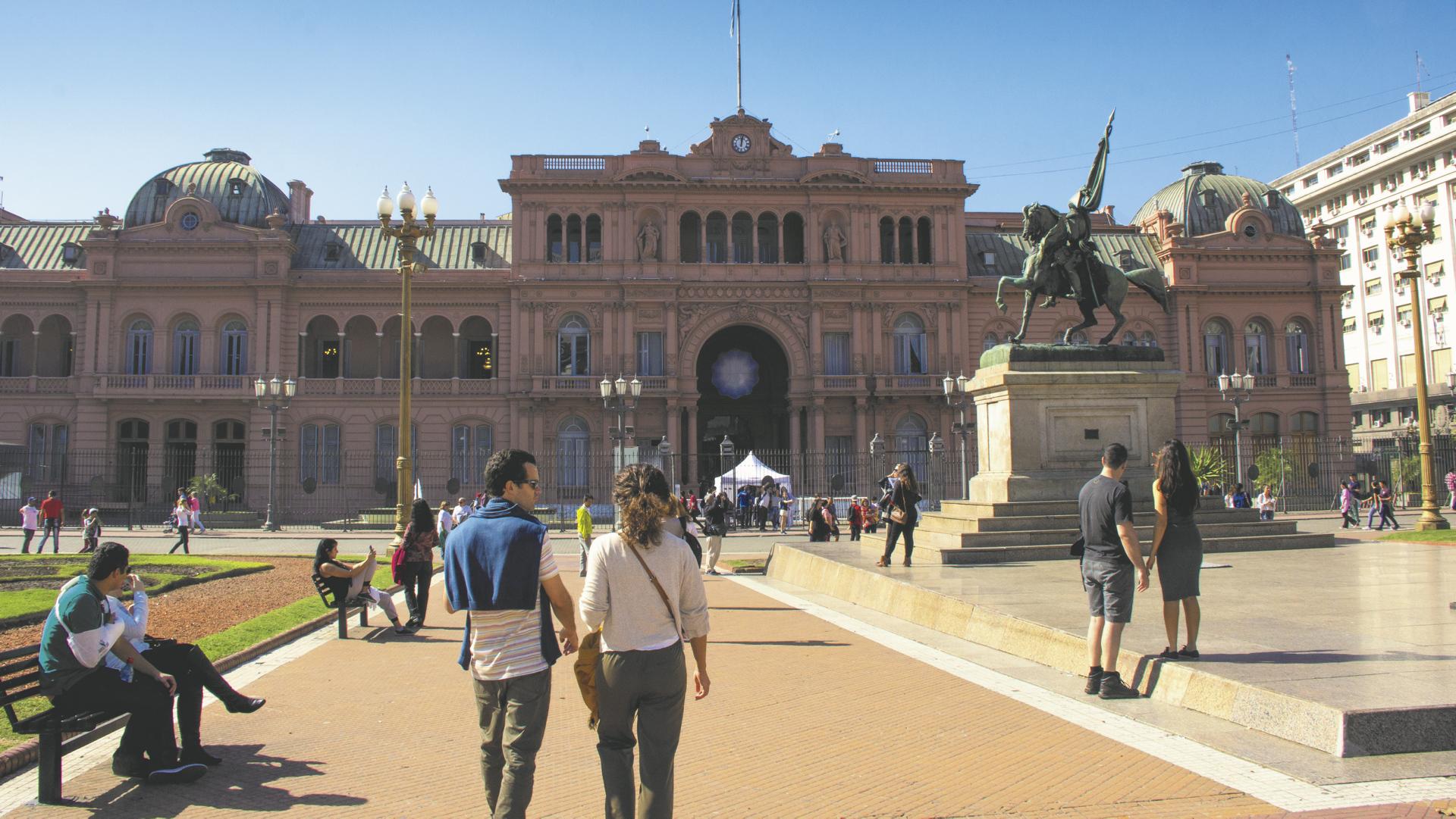 Regierungssitz Buenos Aires