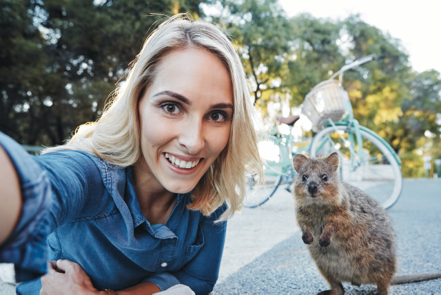Rottnest Selfie ©Tourism Western Australia