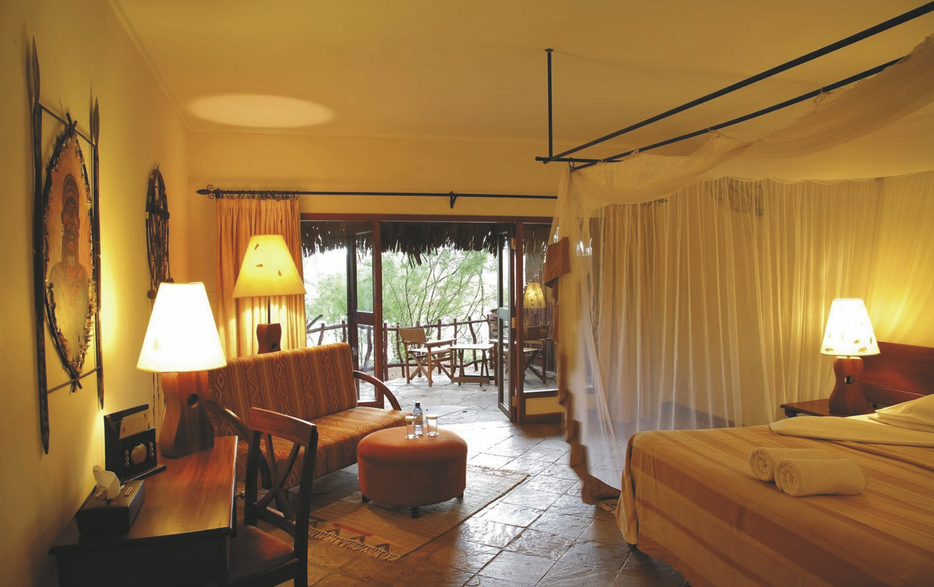 Zimmer im Safaristil