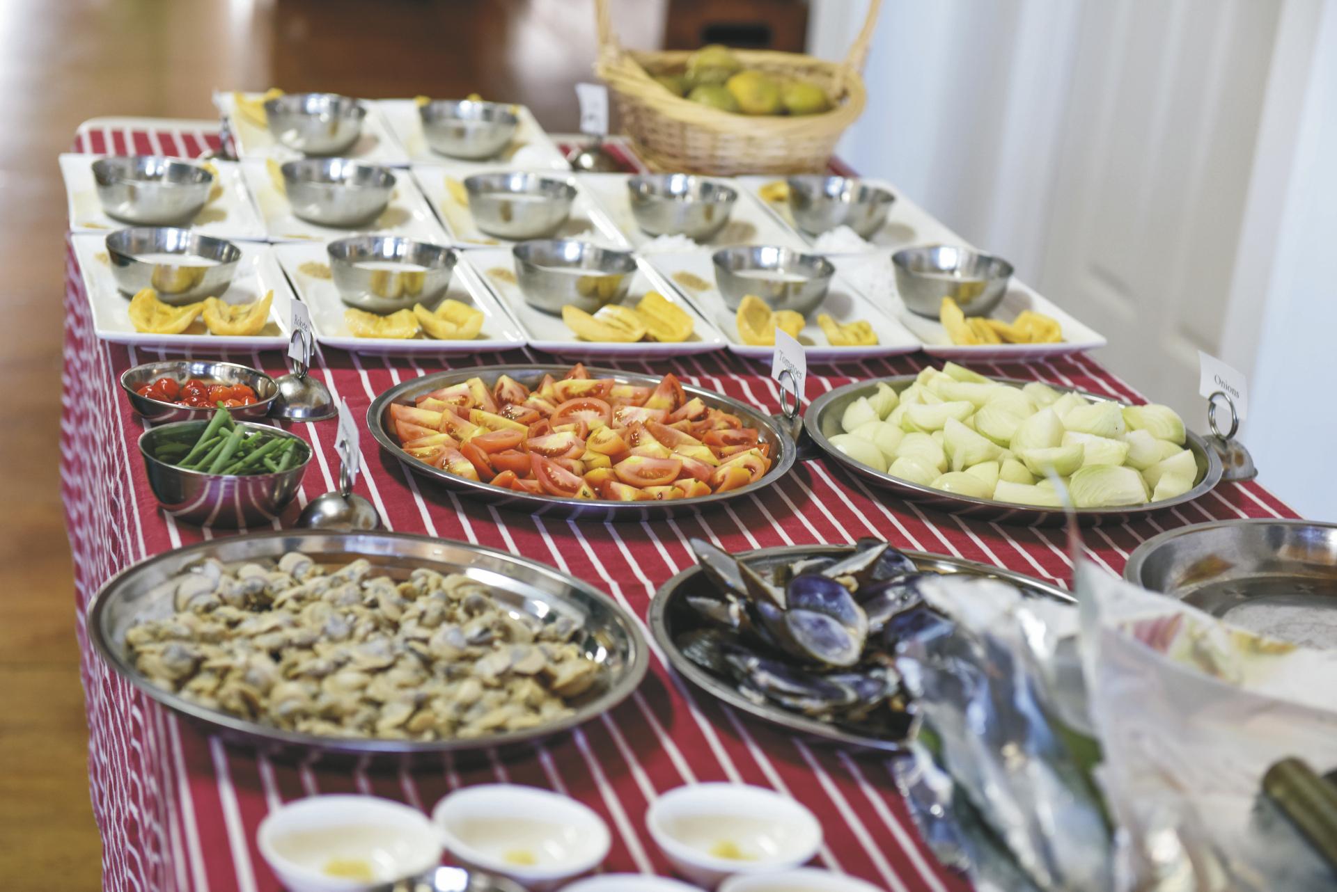 Exotische Speisen ©www.anaischaine.com