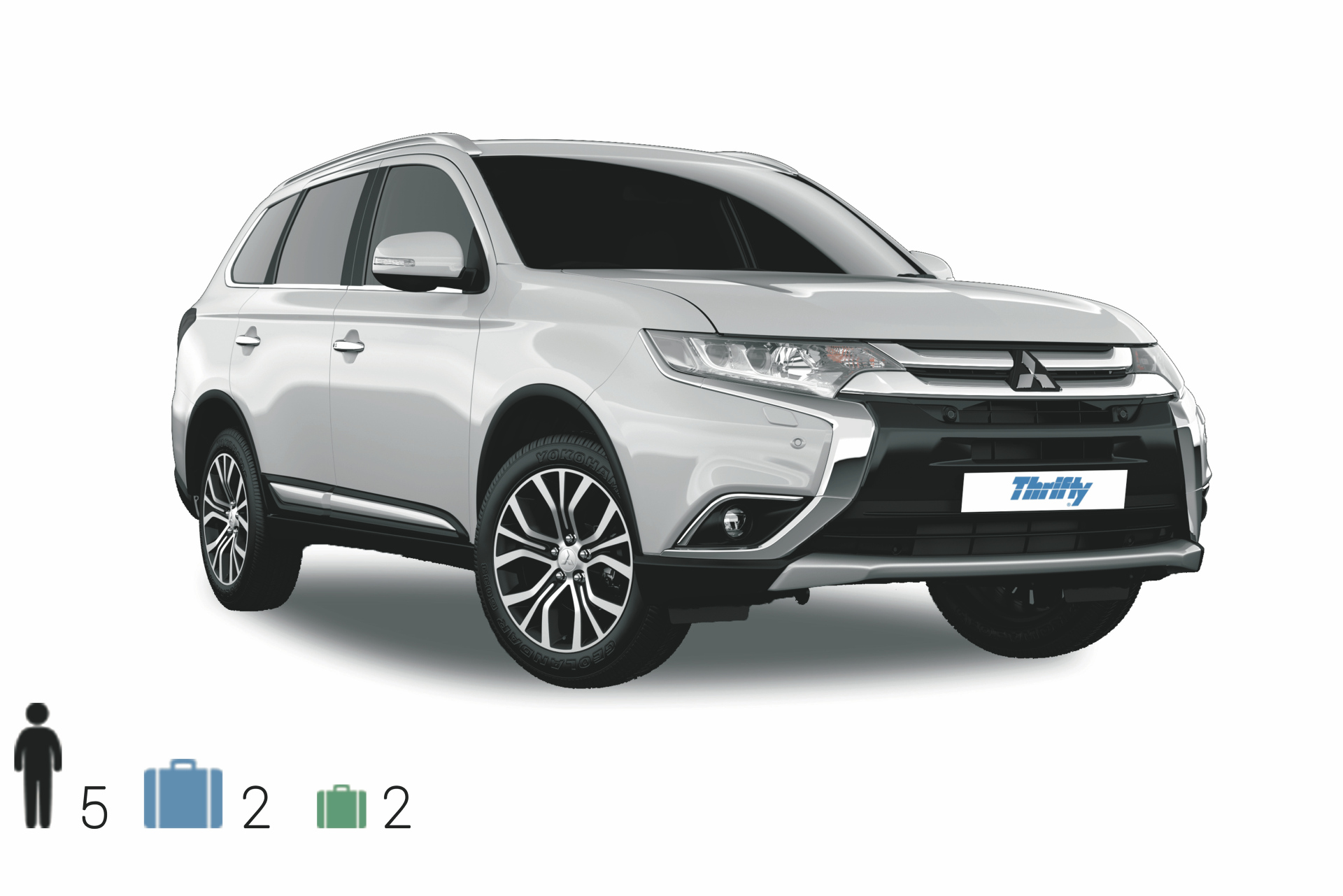 Gruppe IWAR (AWD SUV): Mitsubishi Outlander o.ä.