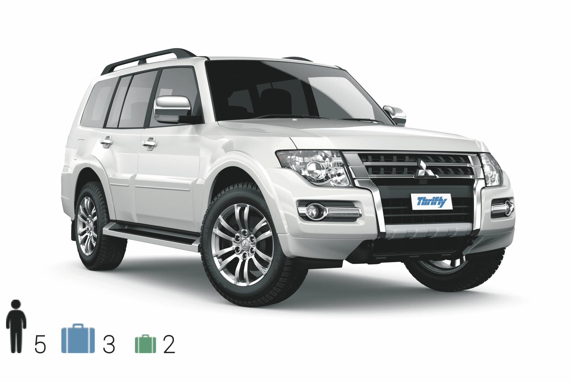 Gruppe FFAR (Large 4WD): Mitsubishi Pajero o.ä.