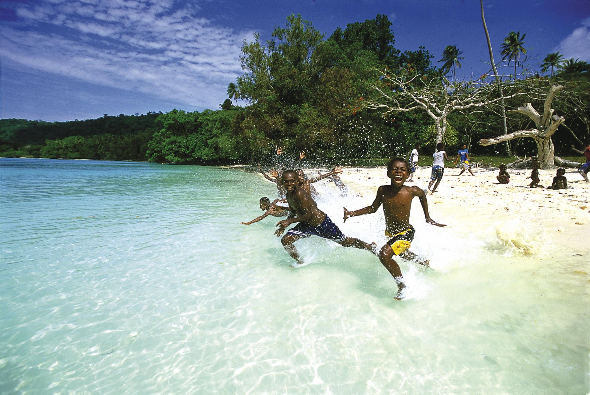 Kinder in Vanuatu