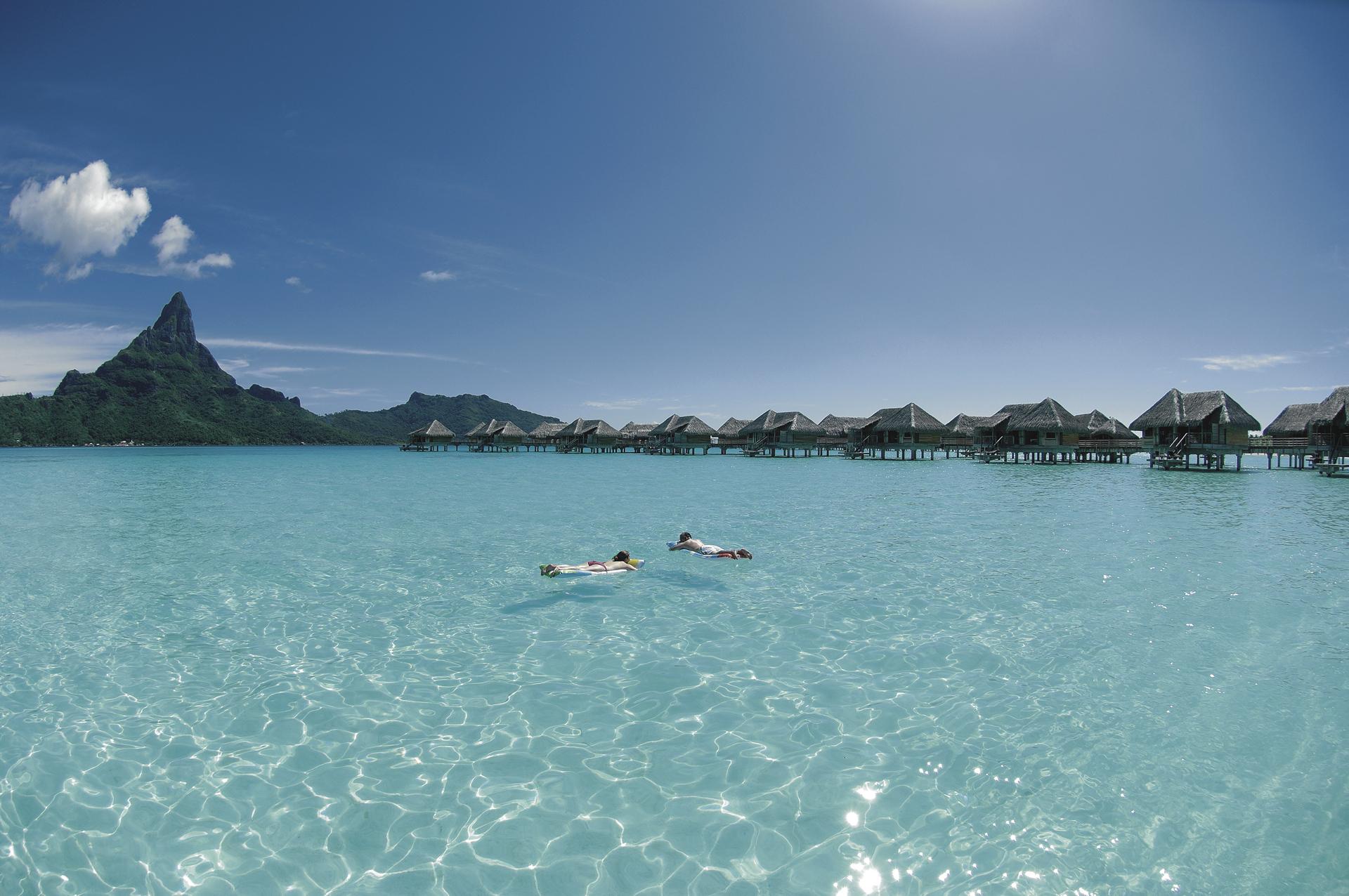 Lagune auf Bora Bora © T. McKenna