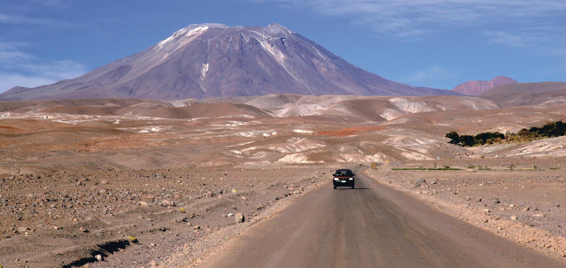 Unterwegs im Altiplano Chiles (Atacama Wüste)