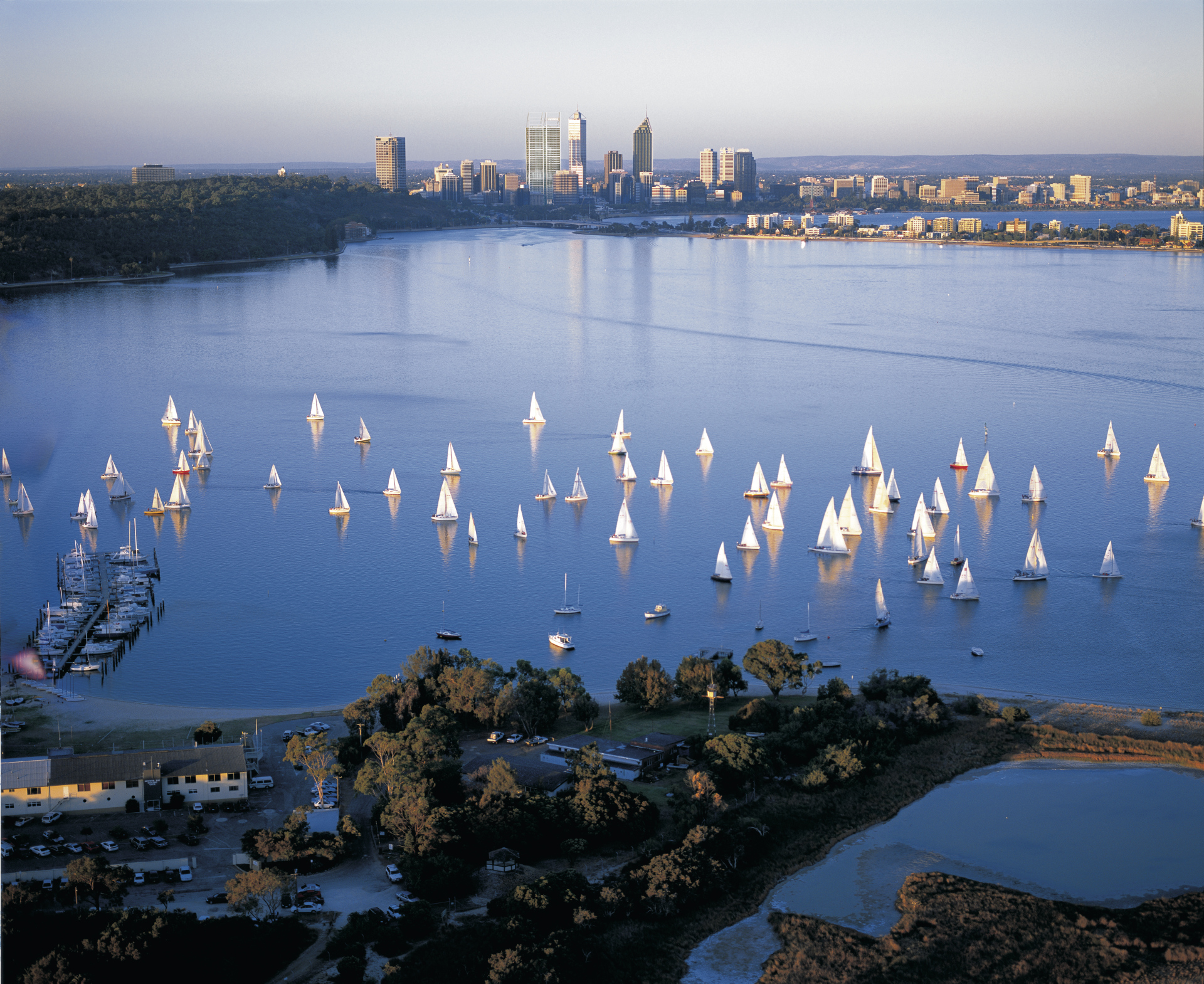 Perth am Swan River