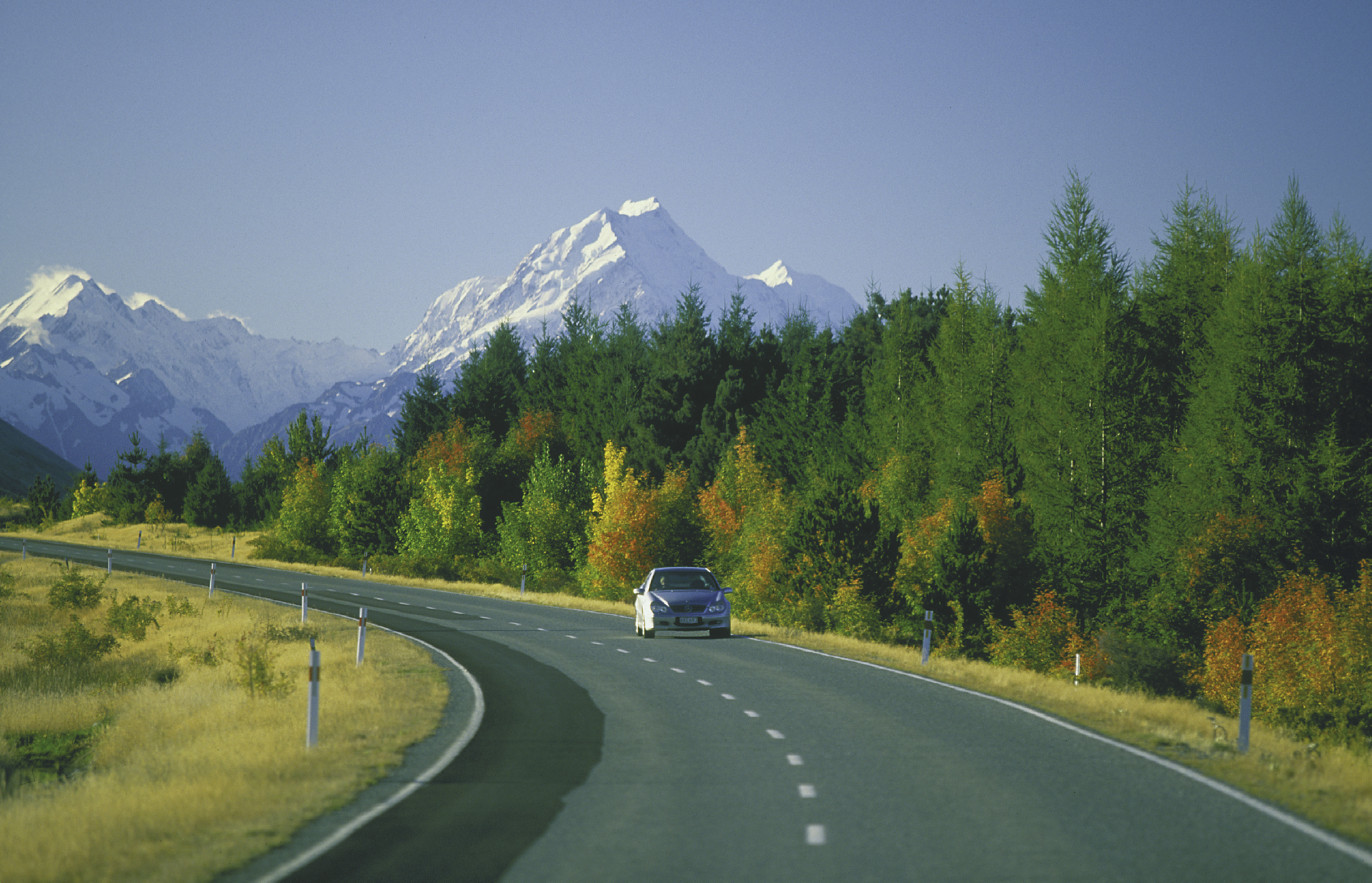 Herbstliche Atmosphäre am Mt. Cook