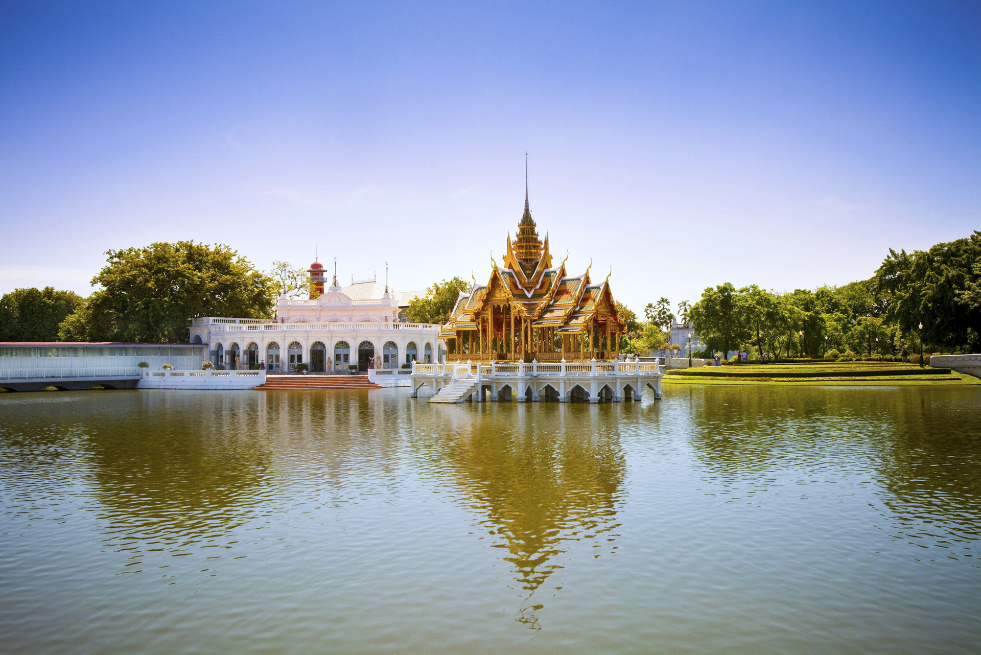 Bang Pa In Royal Palace  in Phra Nakhon Si Ayutthaya  - © Tourism Authority of Thailand
