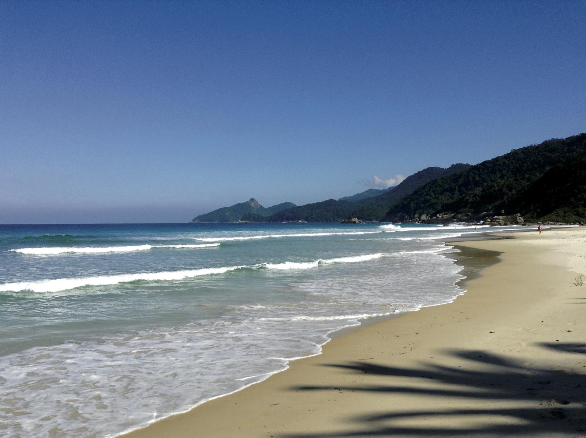 Strand Lopes Mendes auf der Ilha Grande
