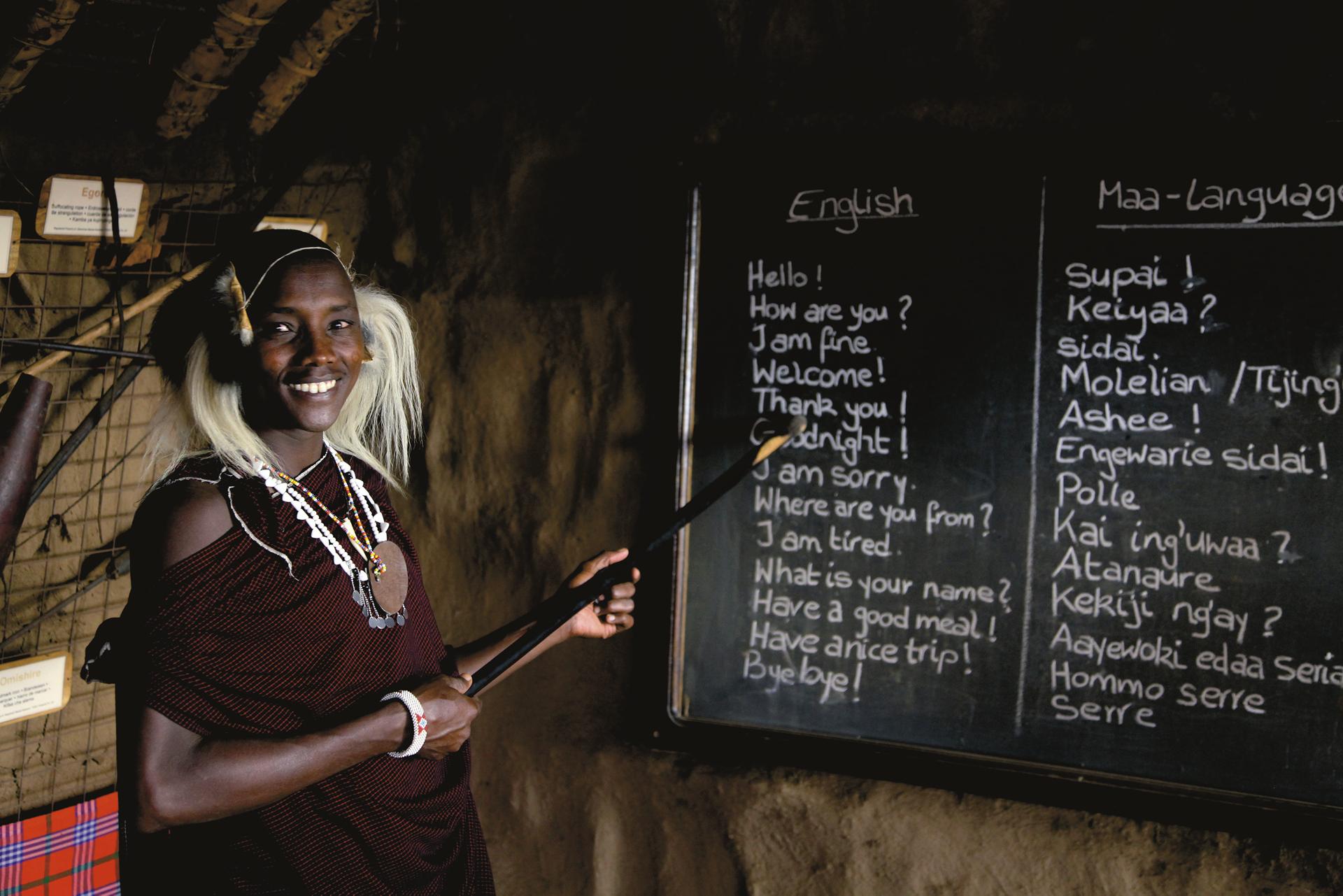 ©Jörg Ehrlich, DIAMIR Erlebnisreisen; Masaischule