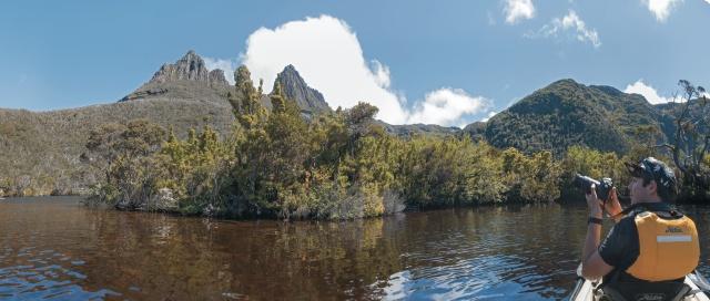 Im Cradle Mountain Nationalpark ©Aran Price