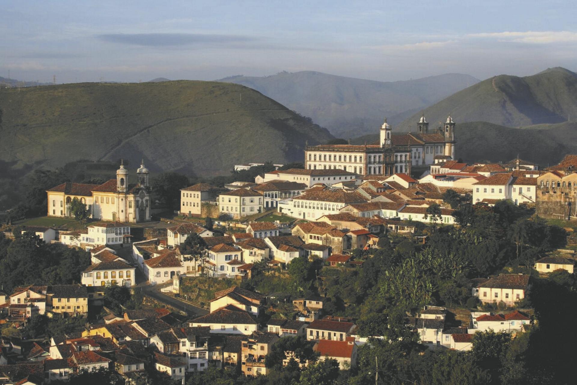 Blick auf Ouro Preto