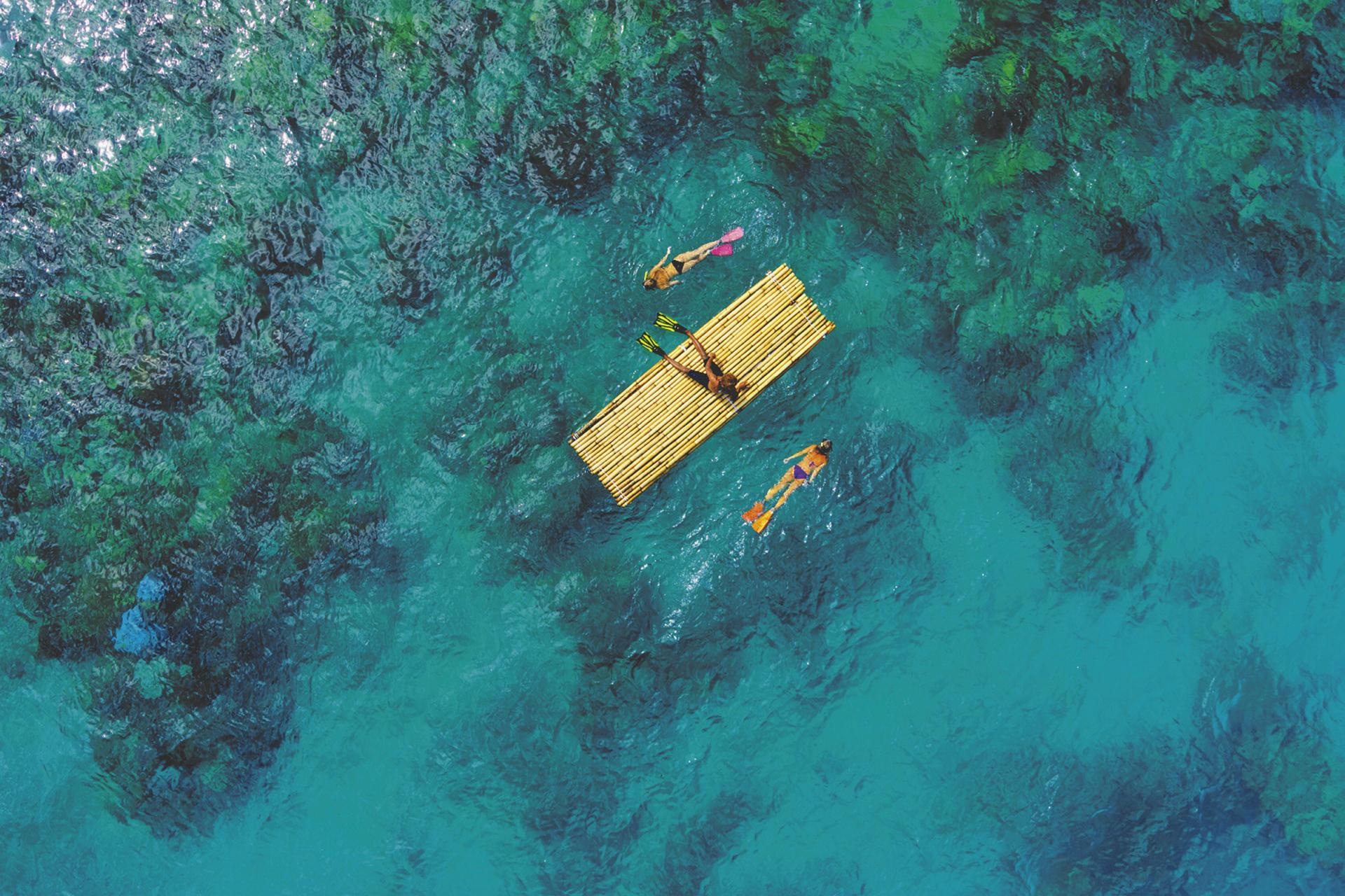 Schnorcheln am Riff © Chris McLennan