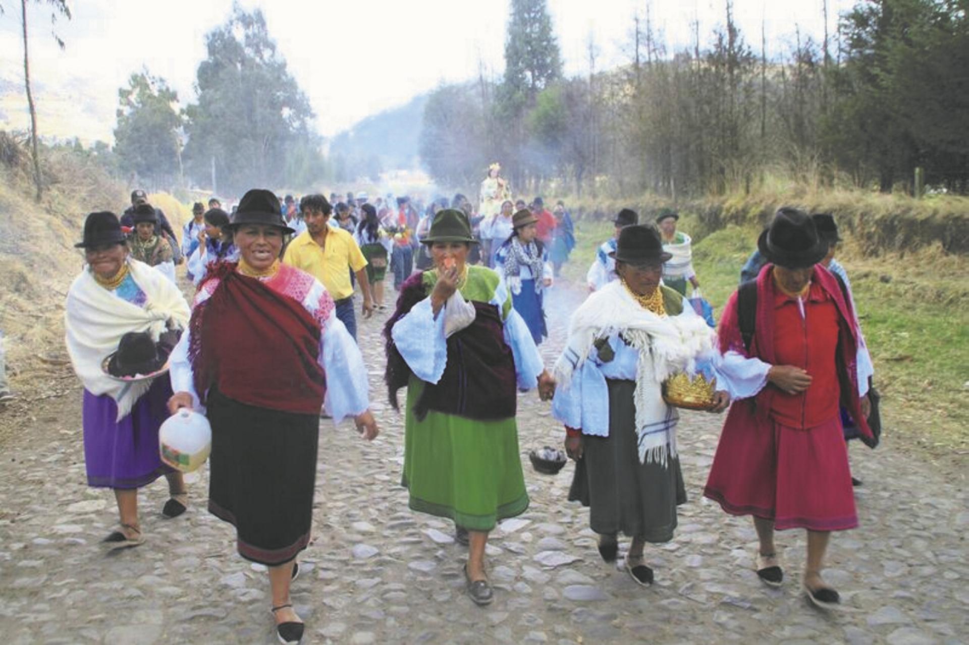 Zu Besuch in der Zuleta Gemeinde