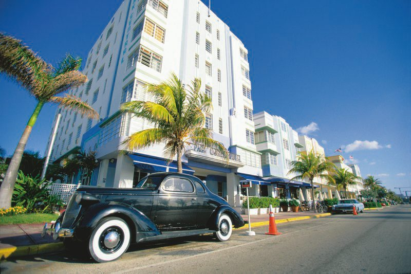Art Deco District in Miami