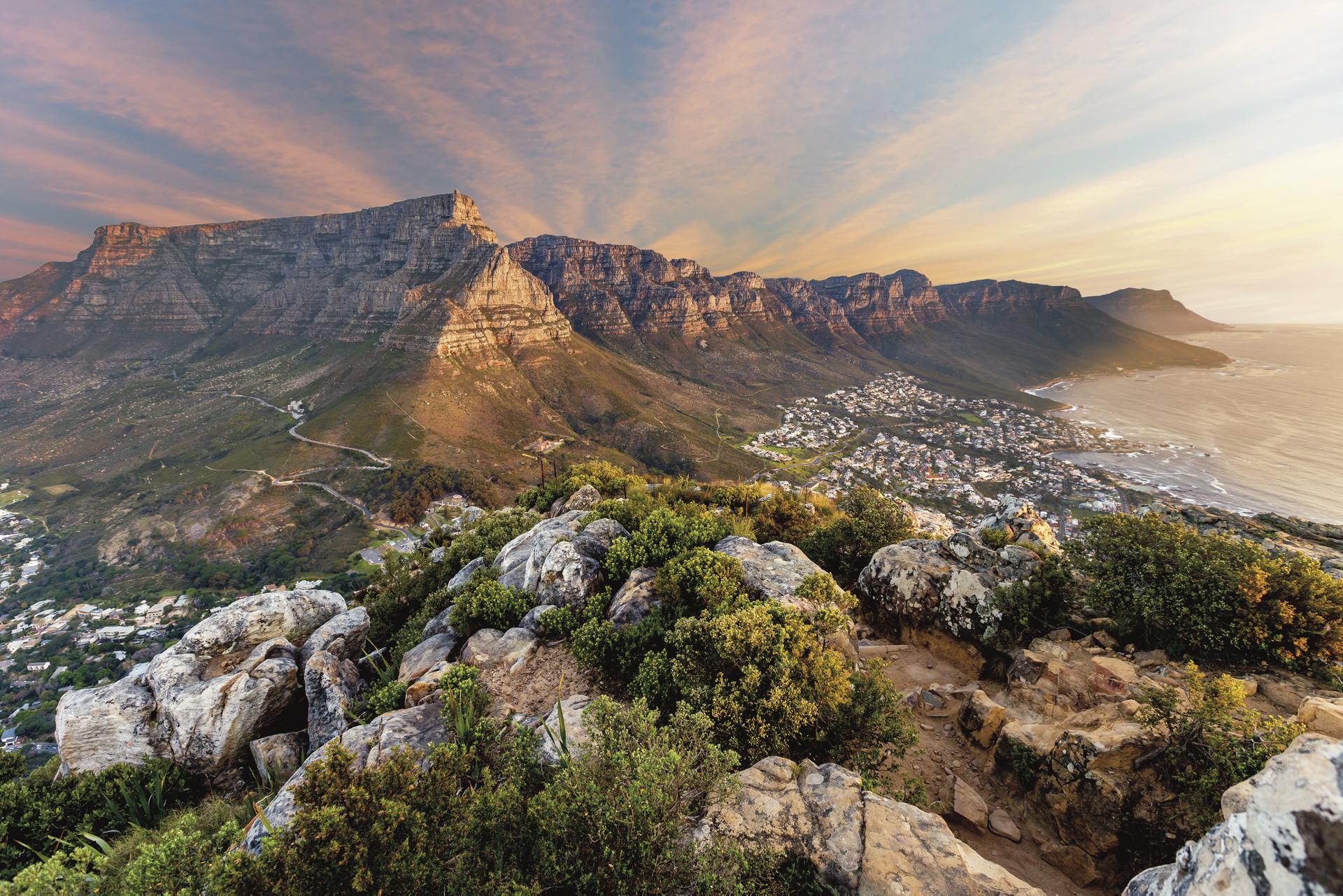 Tafelberg und die 12 Apostel