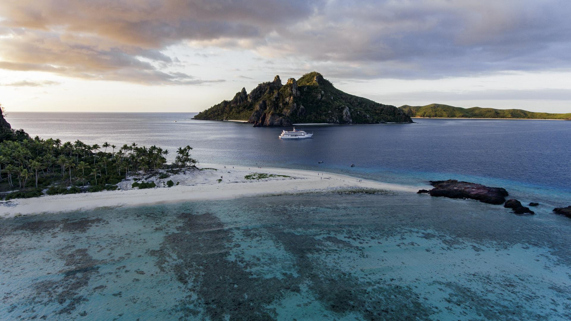 MV Fiji Princess unterwegs