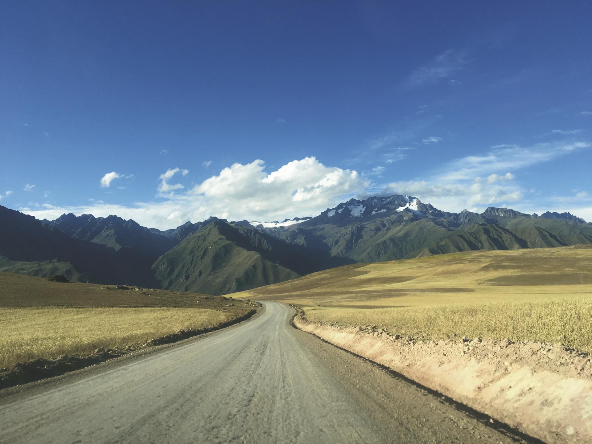im Hochland von Peru