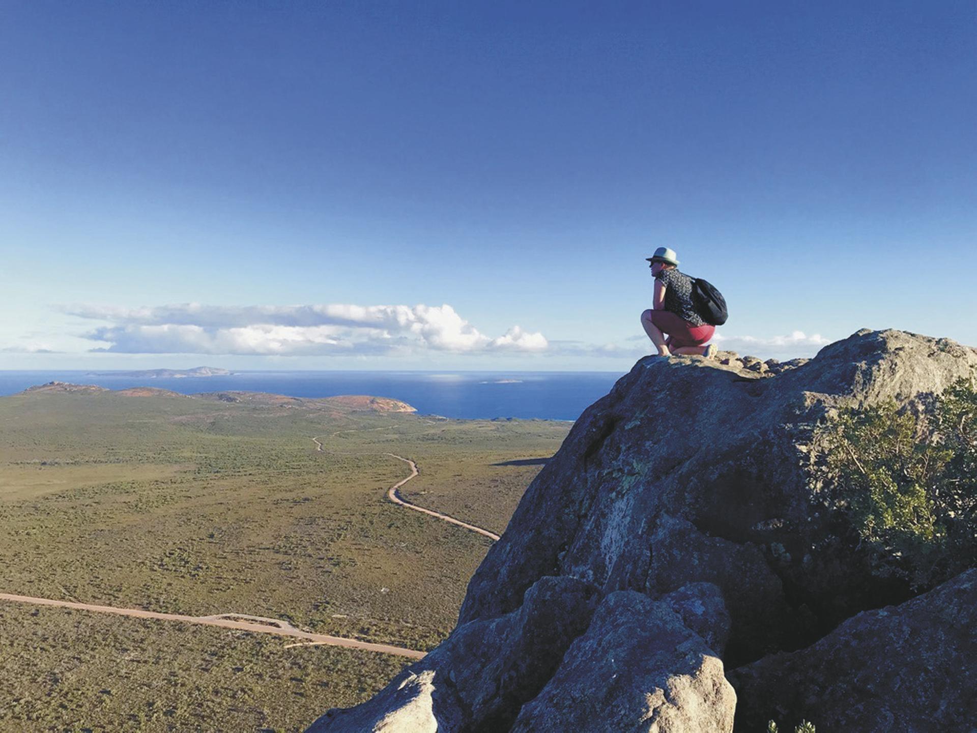 Aussicht vom Frenchmans Peak