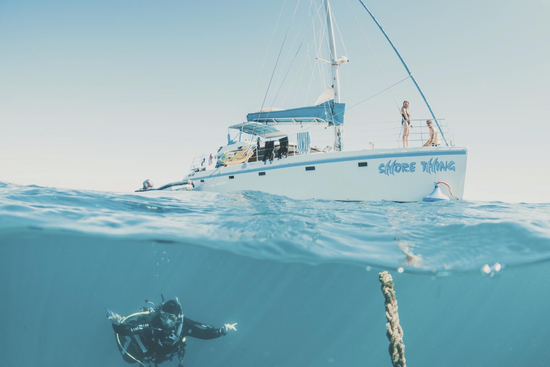 Sail Ningaloo ©CJCreative